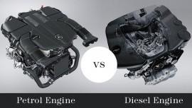 Benzínové vs dieselové motory