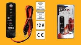 TESTER Akumulatorov  YATO