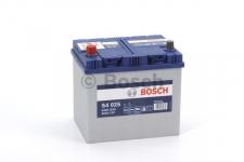 Akumulator Bosch S4 025 12V/60Ah Blue ASIA Ľ+
