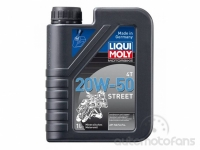 Liqui Moly 1500 MOTORBIKE 4T 20W-50 STREET 1L
