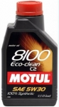 Motul 8100 Eco-Clean 5W-30 C2 1L