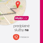 Predplatné služby MOTO Loc EU 12