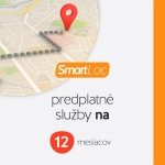 Predplatné služby SMART Loc EU 12