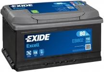 EXIDE 12V  80AH  800A