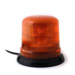 Oranžový maják s úchytom na neomagnet, 10LED ...