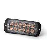 Pozičné výstražné svetlo, 12LED, Class 2, R65 oranžové ...