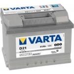 VARTA SILVER  61Ah 600A L-, 561 400 060