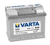 VARTA SILVER 63Ah 610A L- , 563 400 061