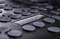 Gumené rohože so zvýšeným okrajom VW CC