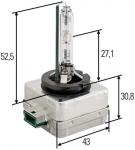 Žiarovka xenonová D3S