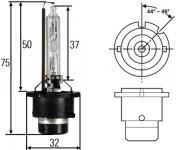 Žiarovka xenonová D4S