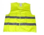 Reflexná vesta - žltá farba
