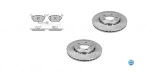 Predné kotúče a platničky POLO IV 1,4 16V