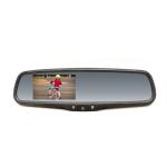 Spätné zrkadlo s LCD displejom, so stmievaním ...