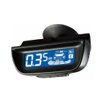Parkovací asistent, LCD, 8x strieborný senzor ...