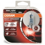 Osram Night Breaker Unlimited H4 P43t 12V 55W sada ...