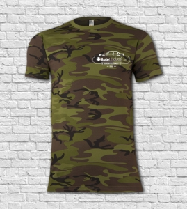 Tričko MILITARY Camouflage pánske