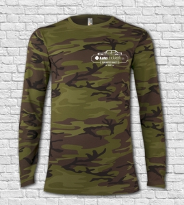 Tričko MILITARY LS Camouflage pánske