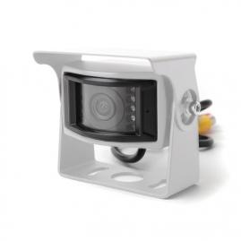 Univerzálna parkovacia kamera 12-24V, biela BC UNI-09W