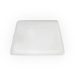 Teflónová stierka tvrdá, biela, 10cm KF 638 W