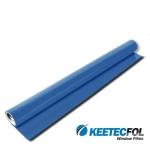 Protislnečná exteriérová fólia, modrá 152cm ...