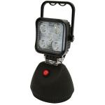 Pracovné LED svetlo ECCO, magnet, 5 x 3W LED, ...
