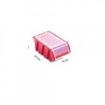 Box s krytom na spotrebný materiál červený ...