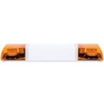 LED rampa 100cm, 12-24V, 2x 12 LED, R65, oranžová ...