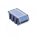 Box s krytom na spotrebný materiál čierny NPKL6 ...