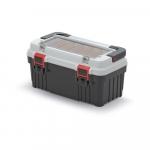 Kufrík na náradie Optima 470x256x238 mm sivý