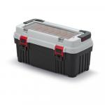 Kufrík na náradie Optima 540x278x269 mm sivý