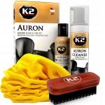 K2 AURON - čistič kože SADA